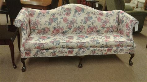 queen ann sofa queen anne camelback sofa delmarva furniture consignment