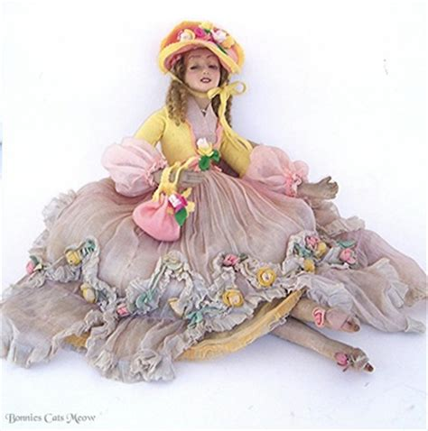 lenci doll pattern lenci mimi rosalind boudoir doll from bonnie s cat s meow