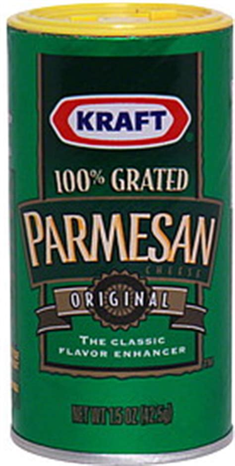 Dijamin Kraft Parmesan Cheese 85 Gr kraft parmesan cheese grated original 1 5 oz nutrition information shopwell