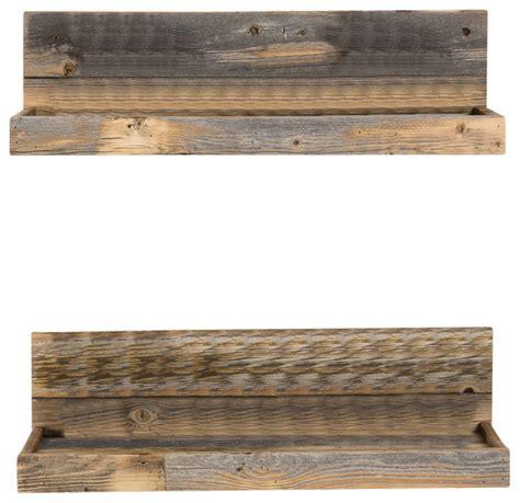 rustic floating wall shelves harkin shelves set of 2 rustic display and wall