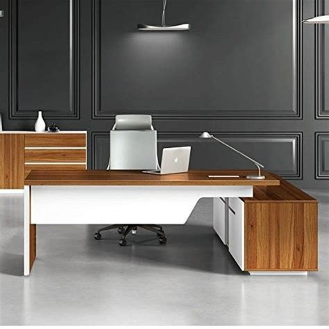 excellent quality modern manager office furniture melamine board lightweight simple office desk