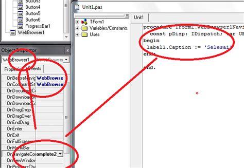cara membuat web browser sendiri dengan vb 6 cara membuat web browser sendiri with delphi 7
