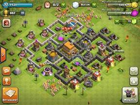 coc strong base structures for lvl6 townhall top 10 clash of clans town hall 6 trophy base layouts