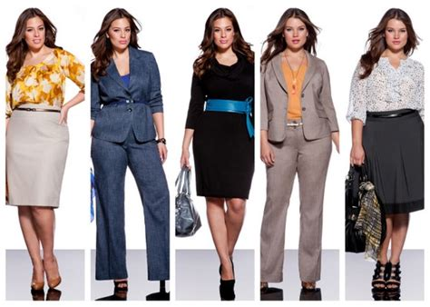 how to dress professional overweight woman poised polished professional and plus size plus size