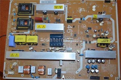samsung free capacitor repair program samsung ln46a650 lcd tv repair kit capacitors only not the entire board lcdalternatives