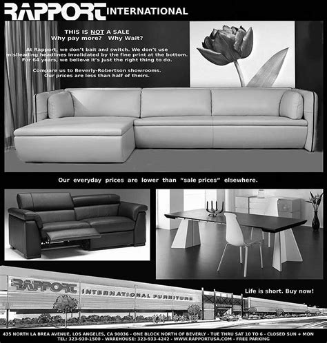 modern furniture los angeles italian furniture
