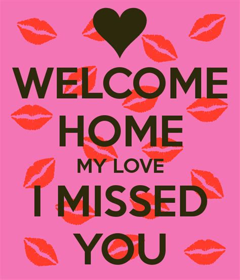 welcome home my i missed you poster shiri keep