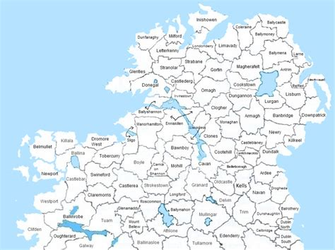 Ireland Birth Records Virginia Ireland Map