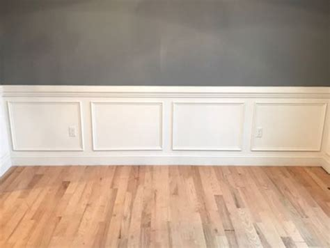 Shadow Box Wainscoting by A Easy Approach To Wainscot Paneling Homebuilding