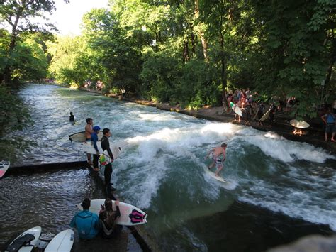 Englischer Garten Surfing by The Guide To A Lonely Planet Shoestring Munich A