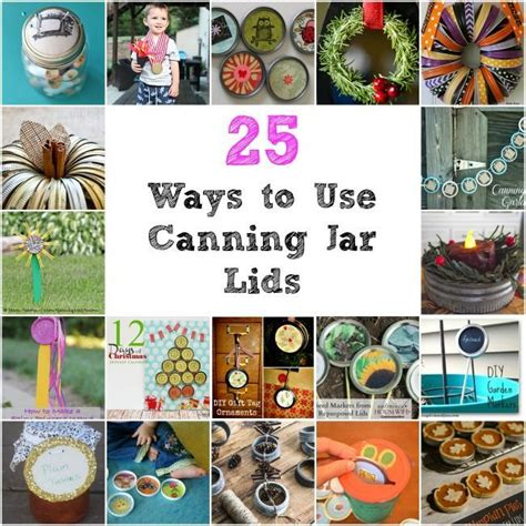 how to use mason jars in home d 233 cor 25 inpsiring ideas 17 best images about canning lids and rings crafts on