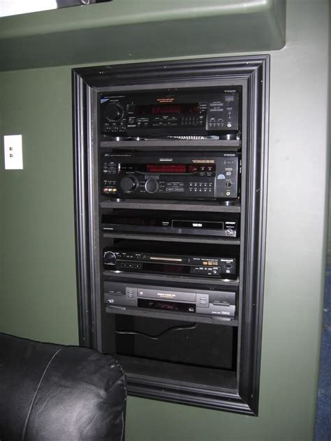 wall stereo cabinet