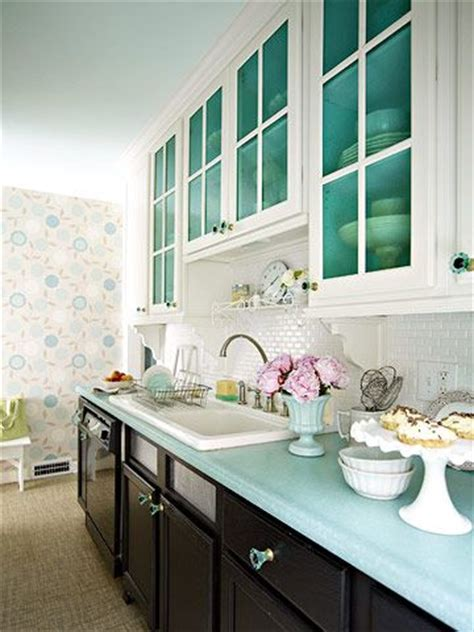 colorful kitchens cabinets and galley kitchens on