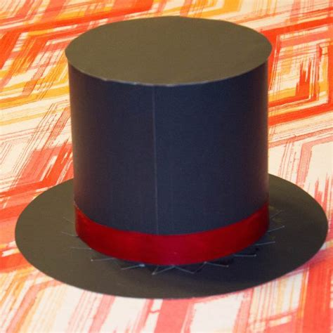 How To Make A Bonnet Out Of Paper - how to make a magician hat out of paper costumes craft