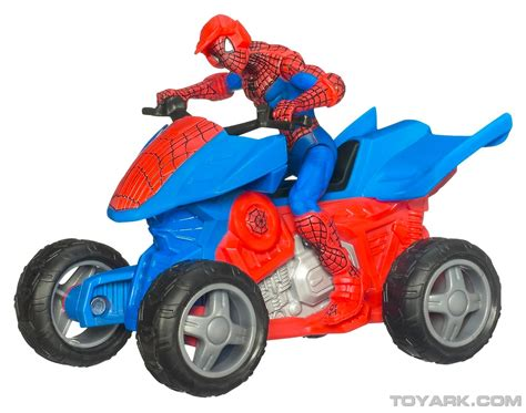 speelgoed quad spiderman quad bike toys for kids youtube