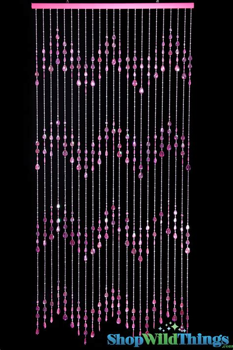 pink beaded curtains pink beaded curtains big teardrops acrylic door beads 6