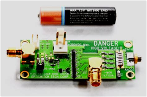 ultra short pulse laser diode driver: pldd 50 sp