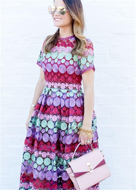 Dress Marcellina lace dress style charade