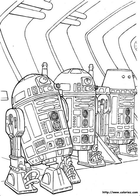 Coloriage R2 D2 224 La Rescousse