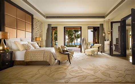 villa bedrooms beachfront villa master bedroom one only the palm dubai
