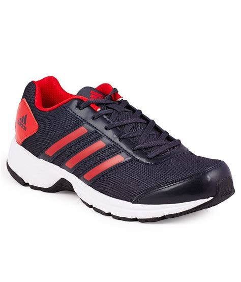 adidas black red sports shoes buy adidas black red