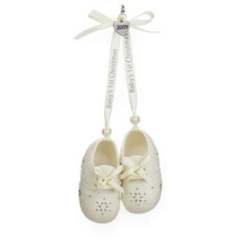 2009 baby s first christmas booties hallmark keepsake