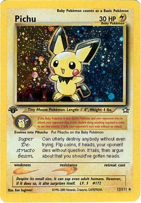 best pokemon card ever by lare yoshi on deviantart