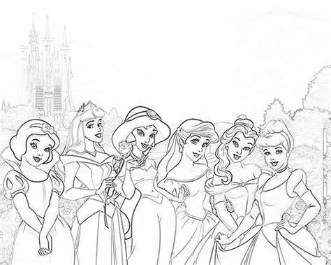 dibujos para pintar de princesas para imprimir imagui dibujos de princesas para pintar imagui