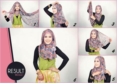 tutorial pashmina simple foto tutorial hijab pasmina simple hairstylegalleries com