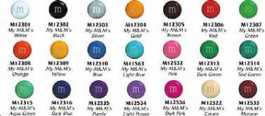 m m colors m m s milk chocolate in colors 10lb box