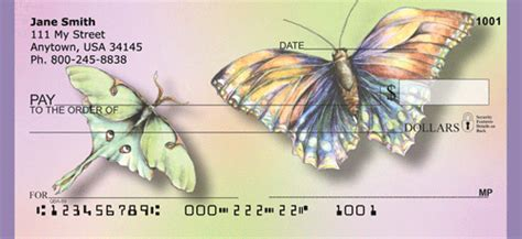 Morphotrust Background Check Butterfly Checks Butterfly Personal Check Styles At Personalchecks Co