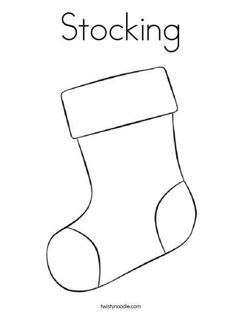 christmas stocking coloring book 4 coloring pages