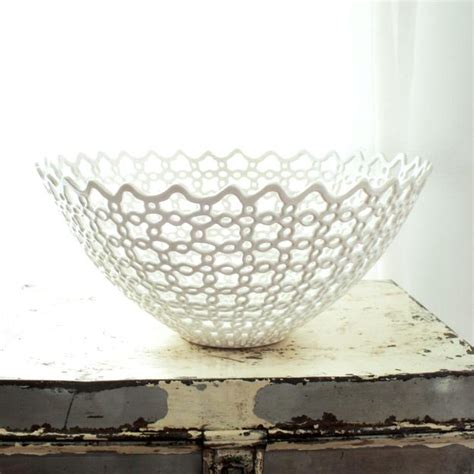 carved porcelain home accessories by isabelle abramson