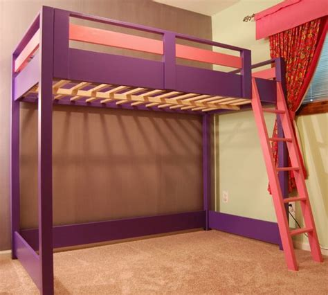 diy space savers diy loft bed a loft bed is a great space saver for a kid