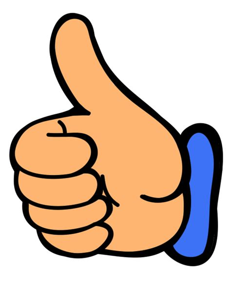 bid up big thumbs up clipart 54