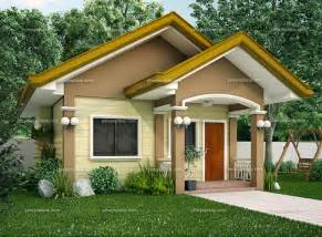 Bungalow Style Floor Plans Small House Designs Shd 20120001 Pinoy Eplans