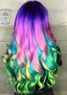Purple Detox Shoo by 1000 Ideas About Rainbow Hair Colors On