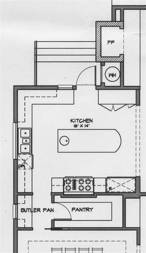 layout of larder kitchen 36 best kitchen images on pinterest
