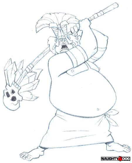 Drawing N Sketches by Crash Bandicoot Characters Web Site