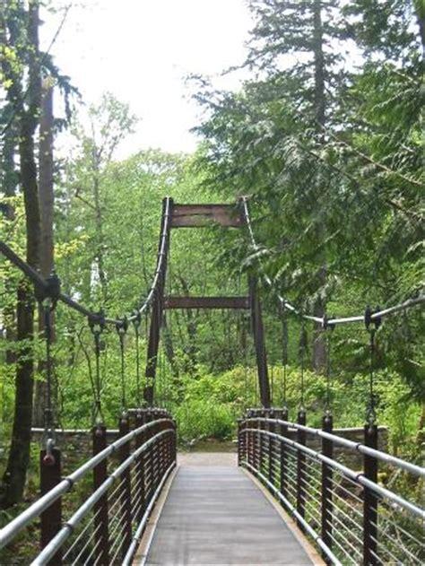 Bellevue Botanical Garden Hours Suspension Bridge At Quot The Ravine Experience Quot Picture Of Bellevue Botanical Garden Bellevue