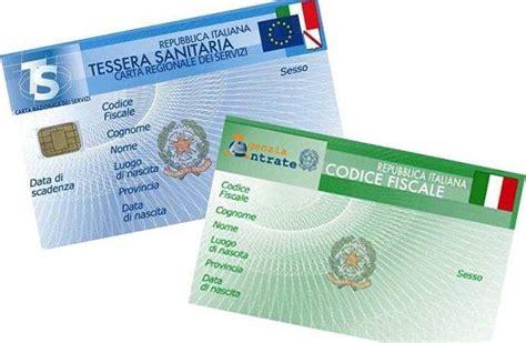 codice ufficio agenzia entrate catania come richiedere il codice fiscale tessera sanitaria