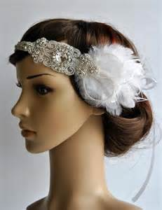 diy flapper hairst 1920s rhinestone headpiece bridal hair piece 1920 s head