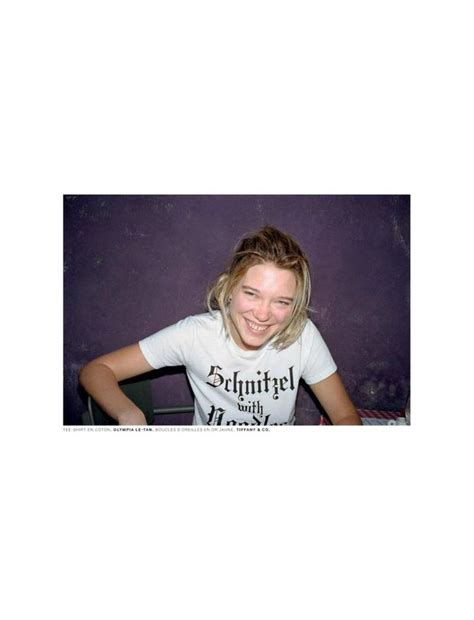 Lea American Styles T Shirt Putih 24 best l 233 a seydoux images on american apparel