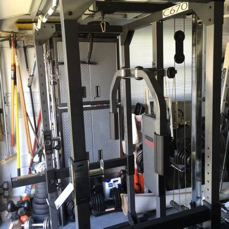 weight cage system espotted