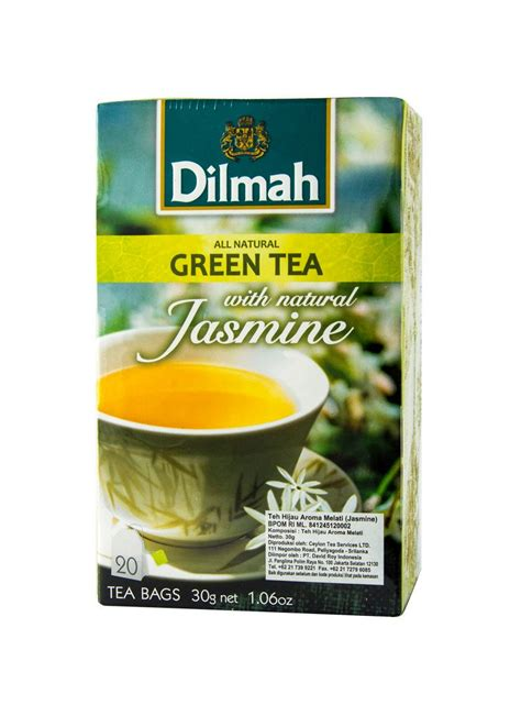 Teh Dilmah Tea 100 Sacshet Peppermint Tea Teh Celup Peppermint dilmah greean tea petals 20 s envelope box 30g
