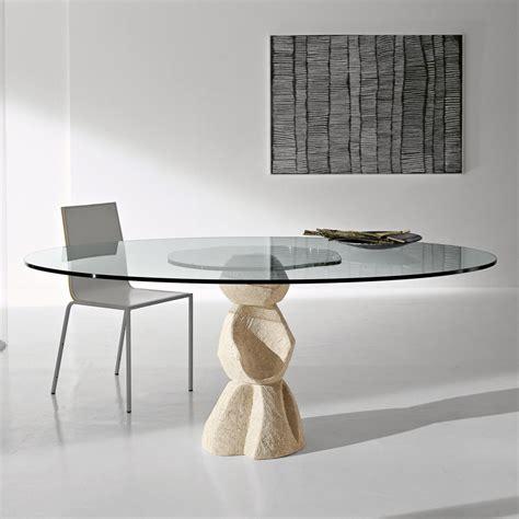 base tavolo cristallo tavolo cristallo rotondo oberone