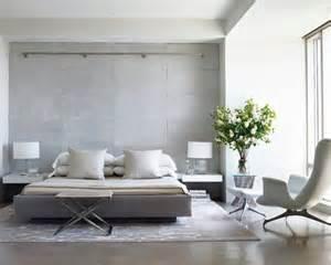 modern gray bedroom nyc interior design