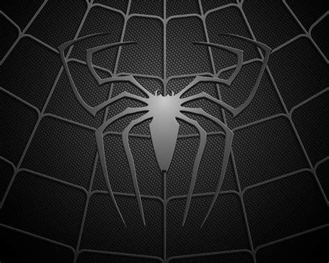spiderman pattern wallpaper black spiderman logo desktop wallpaper i hd images
