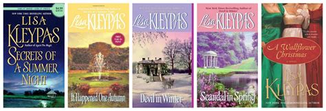 Historical Gamblers Series Kleypas series review the wallflowers by kleypas book scents