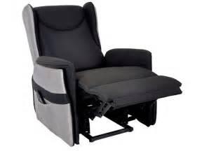 fauteuil relaxation 233 lectrique en tissu smooth coloris